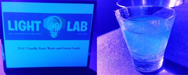 T=CC2: Vanilla tonic water, cotton candy, simple syrup (Light Lab)
