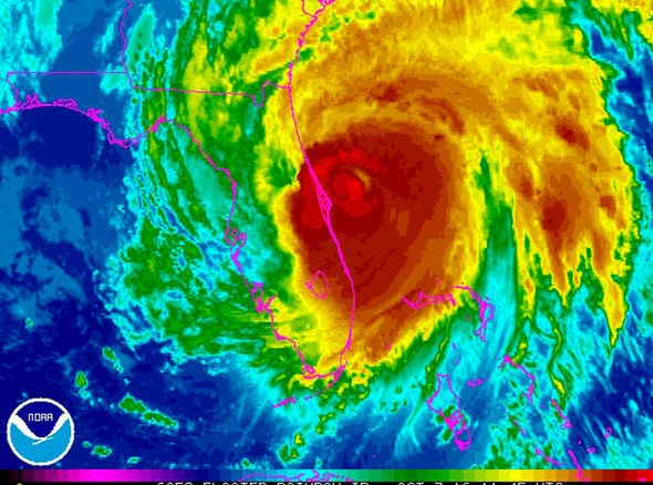 Hurricane Matthew - PHOTO VIA NWS