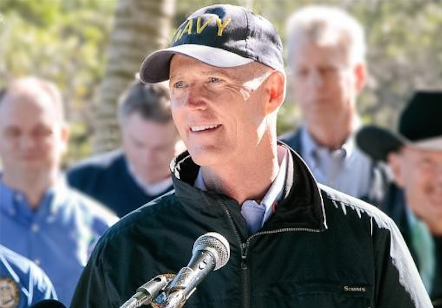 Image result for photos of governor scott during irma