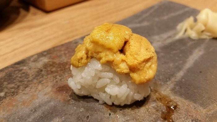 Nigiri of Hokkaido uni