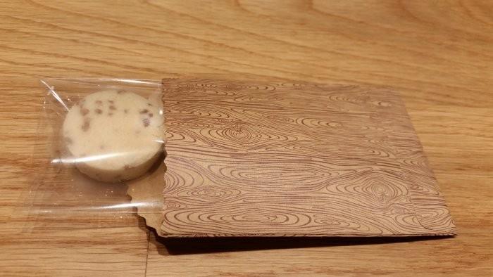 Roasted brown-rice powder cookie