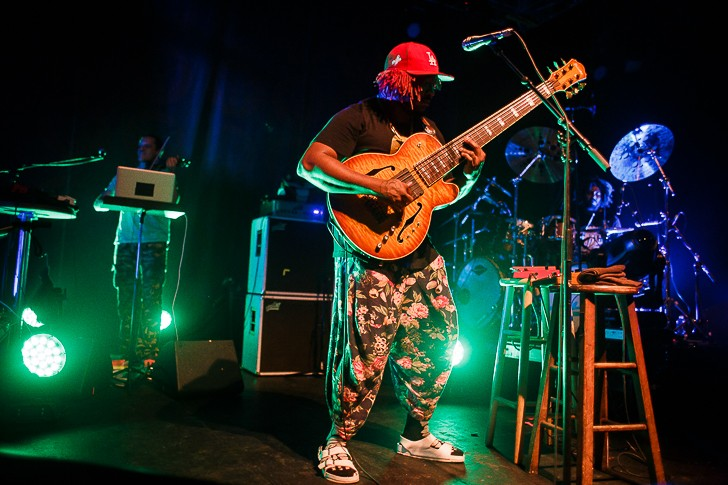 Thundercat at the Beacham - JAMES DECHERT
