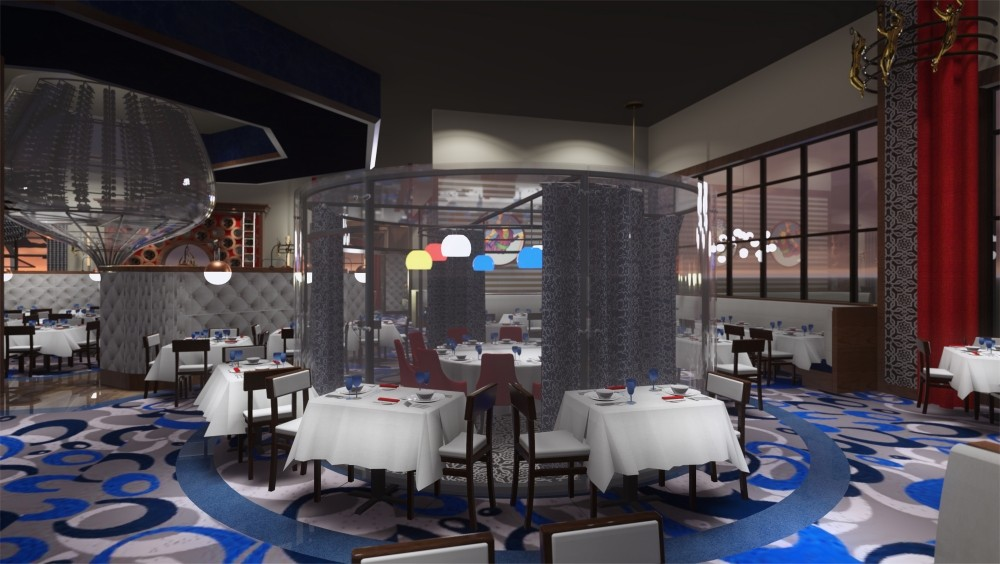 Renderings of the interior of the proposed Circo Orlando - CIRCO ORLANDO