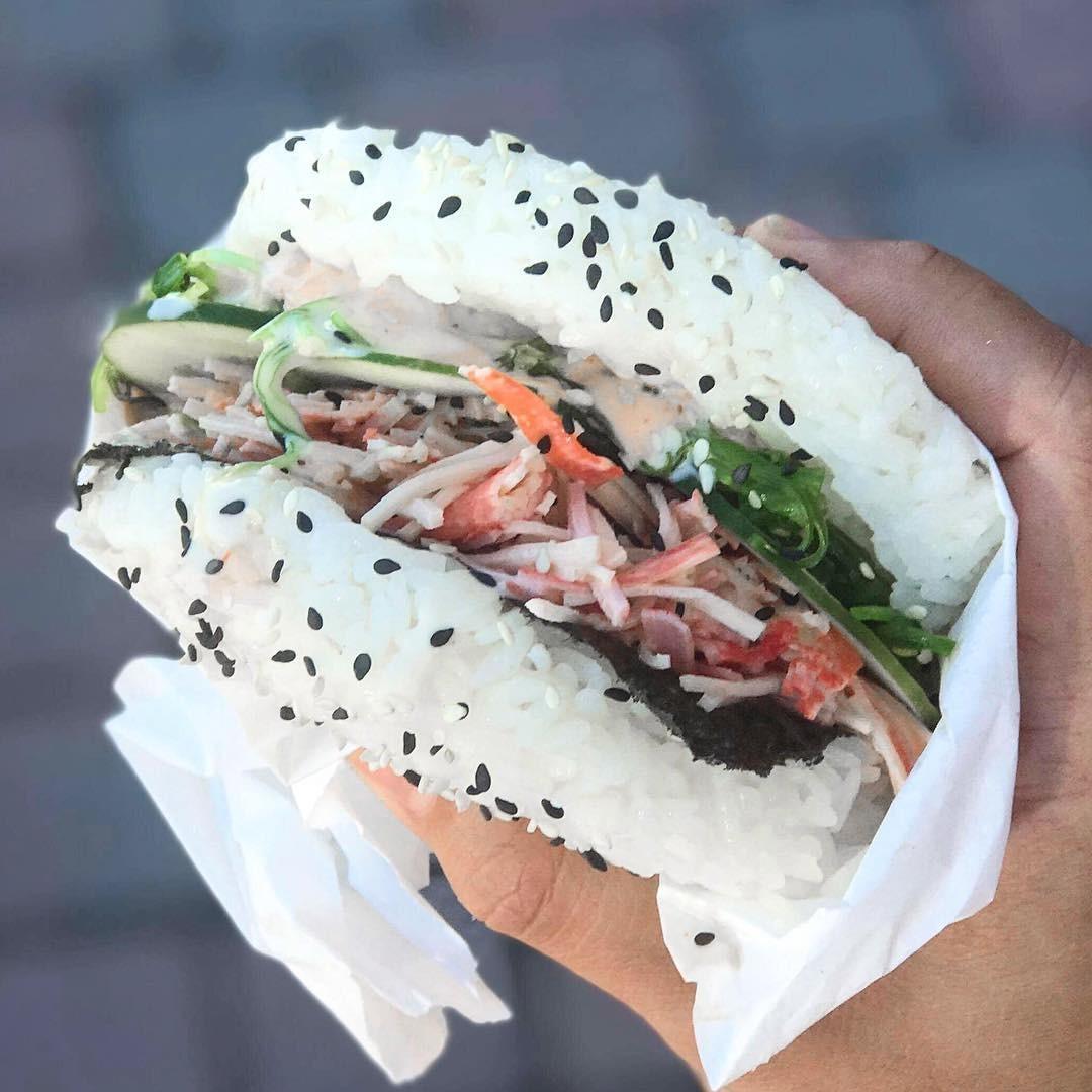 Image result for wave asian bistro burger