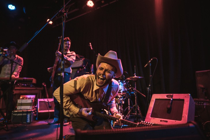 Charley Crockett and the Blue Drifters at the Social - MIKE DUNN