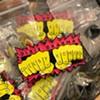 "Dixie Dharma ""Cheesy Homies Knuckle Tat"" enamel pin"