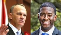 Corcoran, Gillum tangle over 'sanctuary cities' during immigration debate