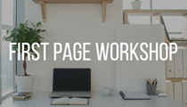 First Page Workshop