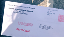Orlando's Anna Eskamani received her NRA survey, which she then tossed in the recycling bin