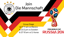 World Cup: Germany vs Sweden Watch Party
