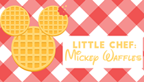 Little Chef: Mickey Waffles