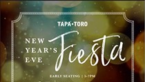New Years Eve at Tapa Toro