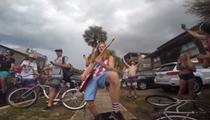 Jacksonville man shreds National Anthem so hard, cops are forced to arrest him