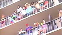 This 1986 news brief on 'rowdy' spring breakers at Daytona Beach belongs in a museum