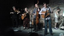 The Gatorbone Band folks up the Timucua Arts White House