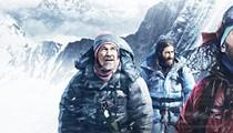 Everest rises above