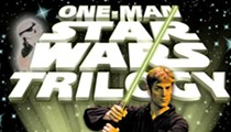 Review: 'One Man Star Wars Trilogy' is a hyperspeed blast of wit and wild energy