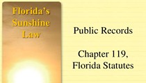 Media organizations sound the alert on Florida's attempt to undermine public-records law