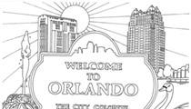 Local artist Jen Jedlicka turns iconic Orlando scenes into your coloring canvas