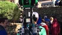 Google Street View cameras spotted at Disney's Magic Kingdom