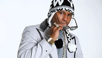 Kool Keith braves the elements to get back to Will's Pub for a make-up show