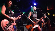 The Areolas bid farewell to their bassist with a blowout final show at the Copper Rocket