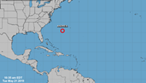 Subtropical Storm Andrea, situated east of Florida, weakens to subtropical depression