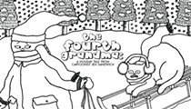 'The Fourth Grandma': A holiday tale from Florida cartoonist and zine-maker Jen Sandwich