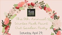 Winter Park Paint Out Garden Party
