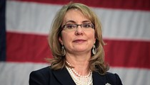 Shooting survivor Gabby Giffords advocates for an increase in gun violence research at Orlando Museum of Art