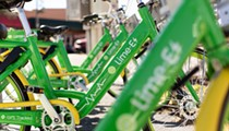 Lime opts to remove ride-share bikes from UCF's campus