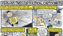Perilous times for political cartoonists