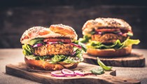 Chefs from the Sanctum and Proper & Wild battle it out to see who can make the best veggie burger