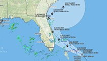 Tropical disturbance heading to Florida likely to become Tropical Storm Humberto over the weekend
