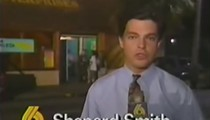 Former Fox News host Shepard Smith once worked for Channel 6, and covered GG Allin pooping on a stage