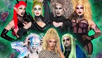 Orlando horror-drag family Black Haüs resumes their weekly Creature Feature night online