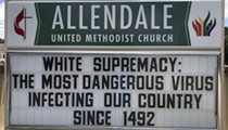 'George Floyd was lynched today': Central Florida church calls out white supremacy with incredibly accurate sign