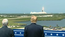NASA administrator says Trump watching new vehicle launch in person was 'a big risk'