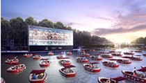 No, a 'floating cinema' with 'socially distanced boats' is probably not coming to Orlando