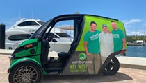 Wahlburgers to remain in Florida with Key West location and zero-emission 'Deliverator' vehicle