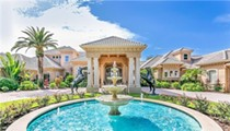 This massive lakeside Mt. Dora mansion dwarfs every home around it