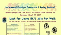 Dash for Downs 5k and Spring Festival