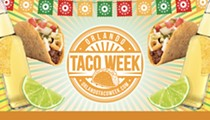Orlando Taco Week kicks off for the third year, running April 20 through May 4, 2021