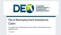 Florida Senate pushes increase in unemployment benefits