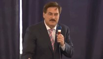 My Pillow Guy Mike Lindell says 'cyber guys' will make sure Trump is president by this fall during Tampa rally