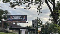 Tallahassee billboards draw line between Matt Gaetz's sex trafficking investigation and Governor Ron DeSantis