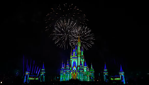 Watch the first-ever run of Walt Disney World's 50th anniversary fireworks show 'Disney Enchantment'
