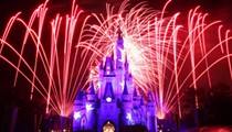 Please don't choke a teen for blocking your view of fireworks at Disney World