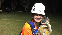 Rescuers save Florida pug from 30-foot sinkhole