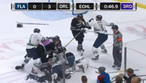 The Solar Bears got into one hell of a hockey fight last Saturday